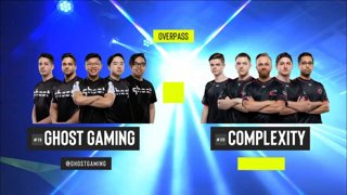 CS:GO - compLexity vs. Ghost [Overpass] Map 2 - Group B - ESL Pro League Season 9 Americas