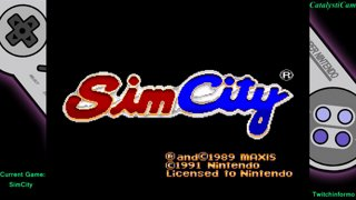 Super Chronquest Game #12 Simcity stream finale