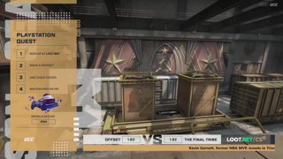 (EN) OFFSET vs The Final Tribe | map 1 | Loot.bet/CS Season 3 | by @oversiard  & @VortexKieran