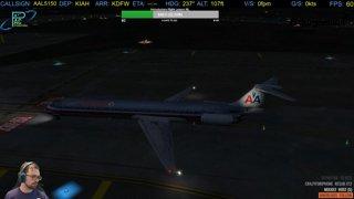 MD-82  Departure IAH