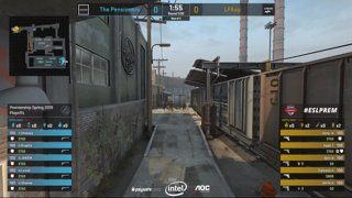 CS:GO - The Pensioners vs LFAug - Playoffs - Game 1 - ESL Premiership Spring 2019