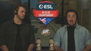 ESL AUNZ Championship 2019 - CS:GO: Stage 1, Matchday #7 | pro.eslgaming.com/anz