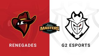 Renegades vsG2 Esports - Group B - Train - CORSAIR DreamHack Masters Dallas 2019