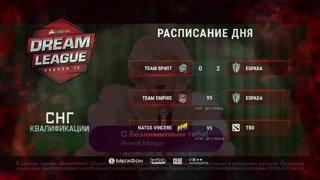 Team Espada vs Team Empire | DreamLeague Season 10 CIS Qualifiers game 1 [ NS & Maelstorm]