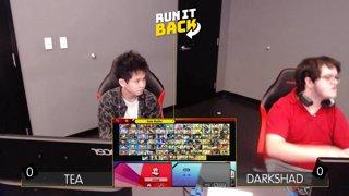 Run It Back - Tea (Pac Man) vs DarkShad (Shulk, Ken) Losers Quarters - Smash Ultimate Singles