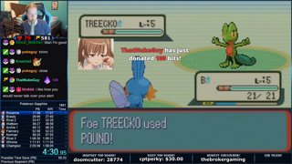 Pokemon Sapphire PB (3rd Place) in 2:00:44