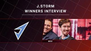 Winners interview - J.Storm vs Natus Vincere - CORSAIR DreamLeague S11 - The Stockholm Major