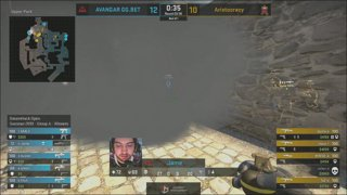 LIVE: Avangar vs Winstrike - BO1 - Group A - DreamHack Open - Summer 2019