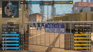 CS:GO - Heroic vs. Natus Vincere [Overpass] Map 3 - Group B - ESL Pro League Season 9 Europe