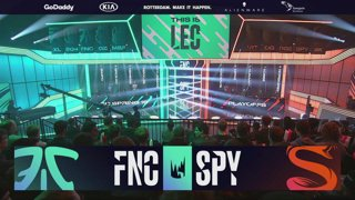 FNC vs. SPY | Playoffs Round 2 | LEC Spring Split | Fnatic vs. Splyce (2019)