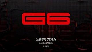 Genesis 6 SSBU - Dabuz (Olimar) Vs. Zackray (Wolf) Smash Ultimate Tournament LQ
