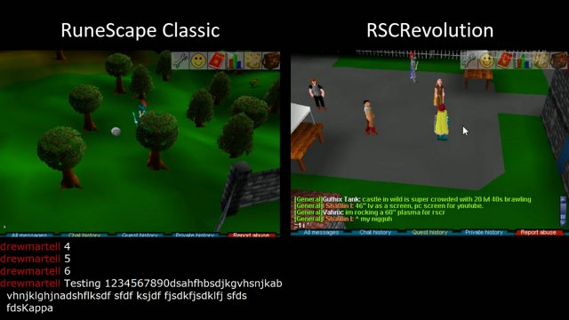 Drewmartell Runescape Classic And Rscrevolution Twitch