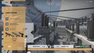 (EN) Winstrike vs Gambit Youngsters | map 1 | Loot.bet/CS Season 3 | by @oversiard & @VortexKieran