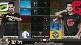 NA LCS Lounge: TSM vs. Golden Guardians