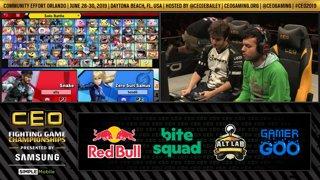 CEO 2019 SSBU - Ally (Snake) Vs. PG | Marss (ZSS) Smash Ultimate Tournament Losers Finals