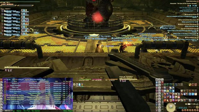 (A9S) Alexander: The Eyes of the Creator Savage -group first clear-