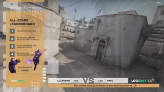 (EN) Illuminar vs HAVU | map 1 | Loot.bet/CS Season 3 | by @VortexKieran