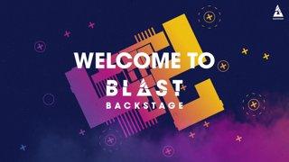 BLAST Backstage - The Talent Members