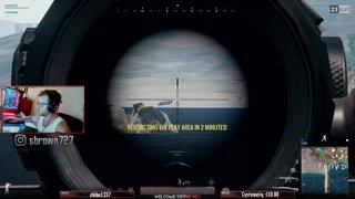 600M KAR98k kill on the run