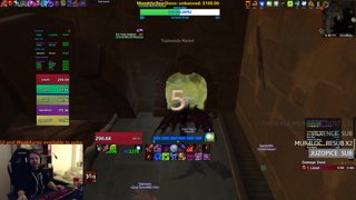 World First +21 Siege of Boralus IN TIME - Blood DK PoV
