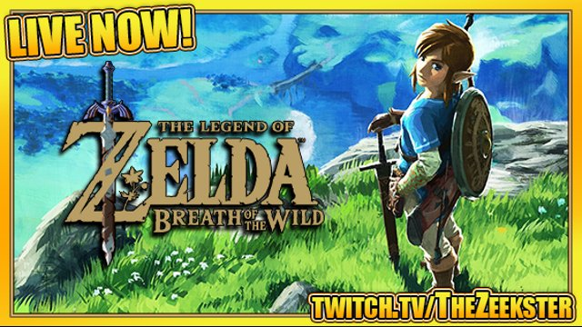 Day 1 - The Legend of Zelda: Breath of the Wild