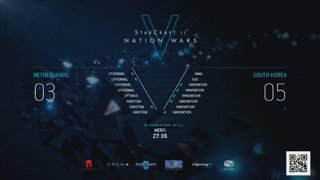 PLAY PARIS POWERED BY PAX 2018 - ENGLISH - Day 2 - StarCraft II: Nation Wars 5 - Finals