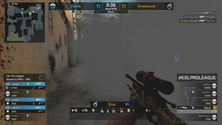 LIVE: CS:GO - Grayhound Gaming vs. Chiefs - ESL Pro League Season 9 - ANZ Round 2