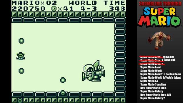 Super Mario Land complete!
