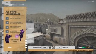 (EN) Adwokacik vs Team Unique | map 2 | Loot.bet/CS Season 3 | by @oversiard & @VortexKieran