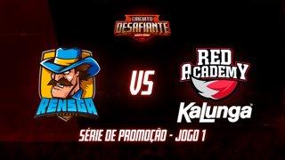 Circuito Desafiante 2019: 2ª Etapa - Série de Promoção | Rensga eSports x RED Academy (Jogo 1)