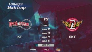 LCK Spring Playoffs: KT vs. SKT