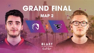 BLAST Pro Series Los Angeles 2019 - Front Row - Grand Final - Team Liquid vs. FaZe Clan - map 2