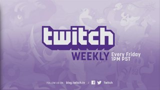 Twitch Weekly Live from St. Jude 1pm PT