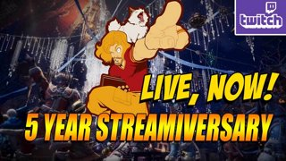 5 YEAR STREAMIVERSARY: Matching Gift Subs & Monster Hunter w/JJ (Thurs 11-29)