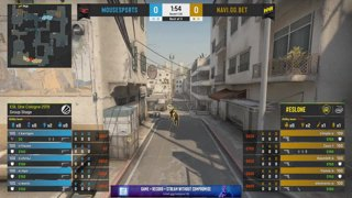 CS:GO - Mousesports vs. NaVi [Dust2] Map 2 - Group A - ESL One Cologne 2019