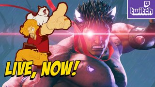 EVIL RYU...er, KAGE IN SF5 - Blackout Quads Later (Sun 12-16)