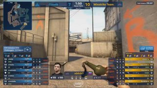 RERUN: G2 vs fnatic [Dust2] Map 2 Ro4 - Challengers Stage - IEM Katowice 2019