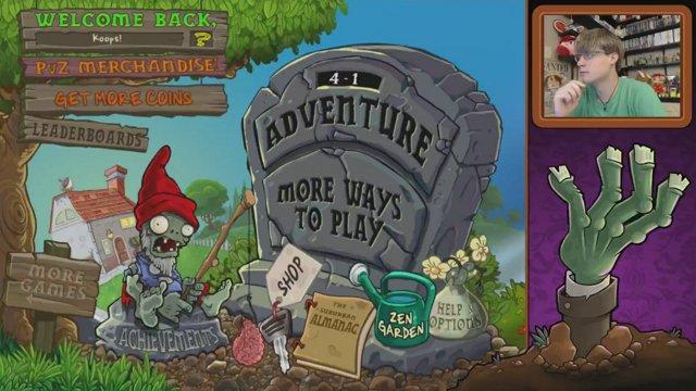 Plants vs Zombies (LIVE!) - Adventure Mode Round 2: Fog (2/2) - Episode 34  - KoopaKungFu