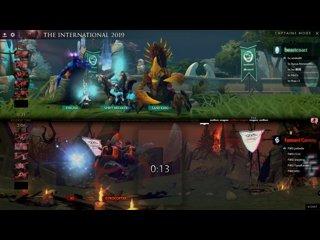 видео: beastcoast vs Forward Gaming, TI9 Qualifiers NA, bo3, game2 [Mortalles & Maelstorm]