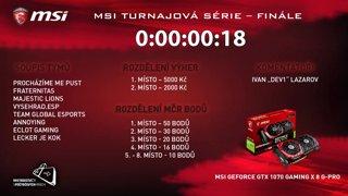 MSI MČR turnajová série - finále