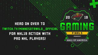 Head on over to TWITCH.TV/MINNESOTAWILD_OFFICIAL for NHL19 action with pro NHL players!