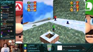 Luigi wants to race too