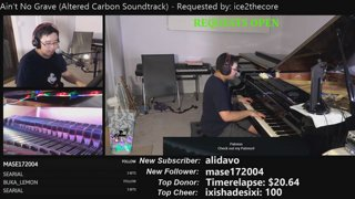 Late night aussie Most Keyboards On Twitch :) Music request stream