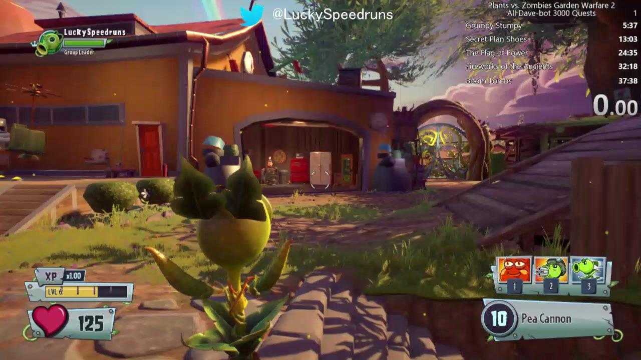 Plants vs. Zombies: Garden Warfare 2 - L.E.A.F Quests - All Dave-Bot ...