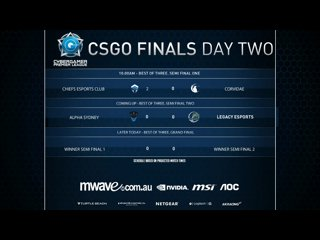 Mwave CGPL Autumn CSGO LAN FINAL - Legacy VS Alpha Sydney Game 1 REAL