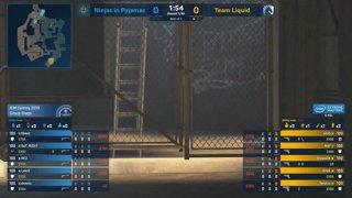 CS:GO - NiP vs. Liquid [Overpass] Map 2 - Group A - IEM Sydney 2019