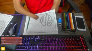 Drawing TSM Op's Logo (no Handed Drawing) | BlinkVII