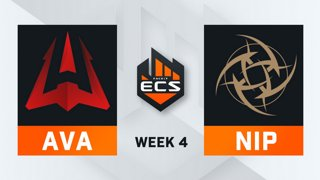 Avangar vs NiP - Map 1 - Dust 2 (ECS Season 7 - Week 4 - DAY4)