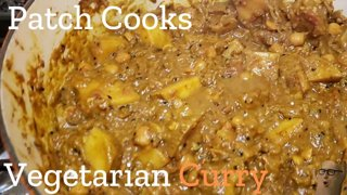 Vegetarian Curry   Patch Cooks
