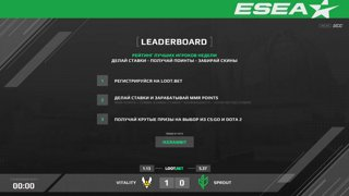 (RU) ESEA MDL S31 Europe | Vitality vs Sprout | map 2 | by @Toll_tv & @cyberfocus_csgo